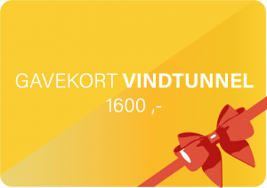 Vindtunnel Gavekort 1600 MegaFun