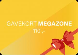 Gavekort til MegaZone hos MegaFun for en person kr. 110,-